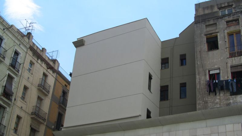 Aislamiento térmico de fachadas en JOAQUÍN COSTA